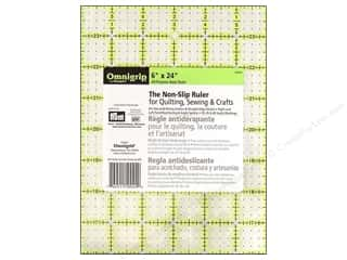 ruler: Omnigrid Omnigrip Non-slip Ruler 6 x 24 in.