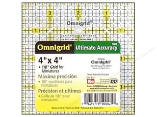 quilt rectangular square ruler: Omnigrid Ruler 4 x 4 in.