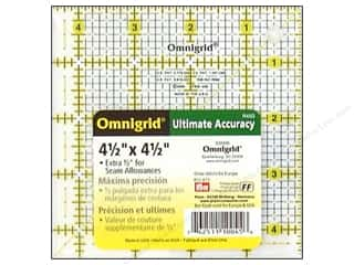 Omnigrid Ruler 4 1/2 x 4 1/2 in.
