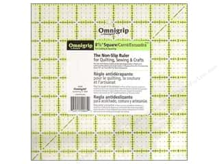 ruler: Omnigrid Omnigrip Non-slip Ruler 8 1/2 x 8 1/2 in.