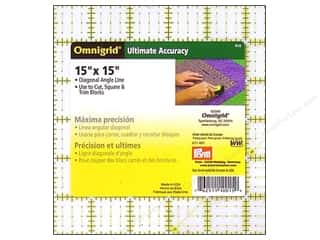 ruler: Omnigrid Ruler 15 x 15 in.