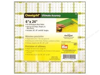 ruler: Omnigrid Ruler 6 x 24 in.