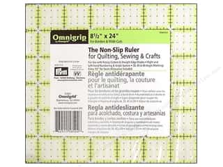 ruler: Omnigrid Omnigrip Non-slip Ruler 8 1/2 x 24 in.