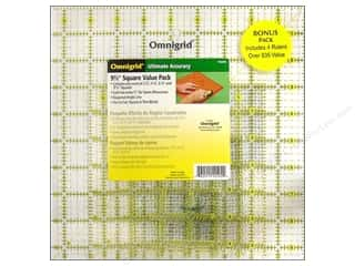 Holiday Sale Printed Cardstock: Omnigrid Rulers Value Pack # 2 4pc