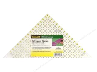 quilt rectangular square ruler: Omnigrid Ruler 8 in. Half Square Triangle