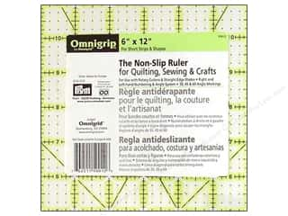 ruler: Omnigrid Omnigrip Non-slip Ruler 6 x 12 in.