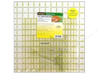 quilt rectangular square ruler: Omnigrid Square Ruler Value Pack #1 4 pc.