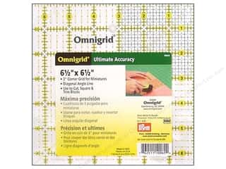 ruler: Omnigrid Ruler 6 1/2 x 6 1/2 in.