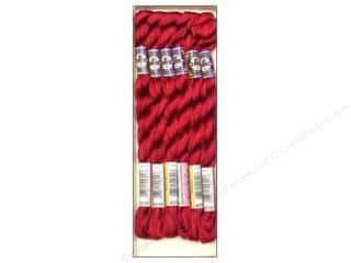 yarn & needlework: DMC Pearl Cotton Variations Size 5 #4210 Radiant Ruby (6 skeins)