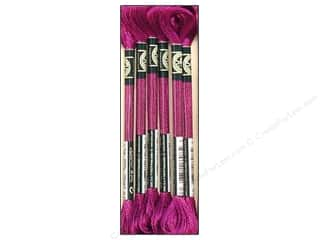 DMC Floss: DMC Satin Embroidery Floss #S550 Amethyst (6 skeins)