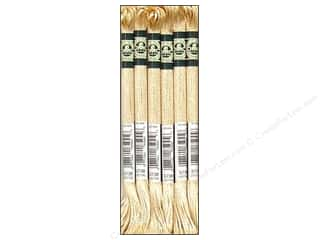 yarn & needlework: DMC Satin Embroidery Floss #S738 Golden Fawn (6 skeins)