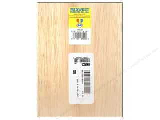 Midwest Balsa Wood Strips 1/16 x 6 x 36 in.