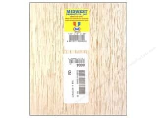 Kids Crafts: Midwest Balsa Wood Strips 1/8 x 6 x 36 in. (10 pieces)