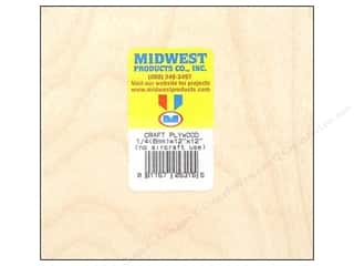 craft & hobbies: Midwest Craft Plywood 1/4 x 12 x 12 in.