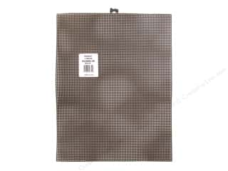 plastic canvas: Darice Plastic Canvas #7 10 1/2 x 13 1/2 in. Black Rectangle (12 sheets)