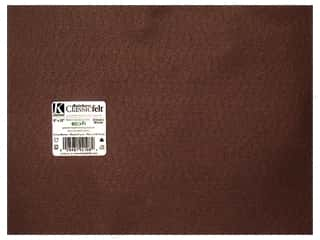 craft & hobbies: Kunin Felt 9 x 12 in. Cocoa Brown (24 sheets)