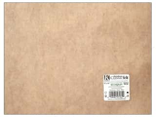 craft & hobbies: Kunin Felt 9 x 12 in. Sandstone (24 sheets)
