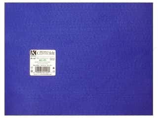 craft & hobbies: Kunin Felt 9 x 12 in. Royal Blue (24 sheets)