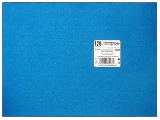 craft & hobbies: Kunin Felt 9 x 12 in. Neon Blue (24 sheets)