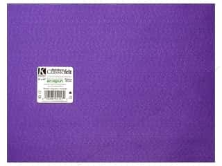 craft & hobbies: Kunin Felt 9 x 12 in. Orchid (24 sheets)