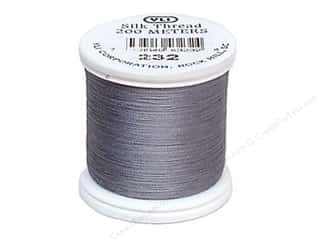 YLI Silk Thread 100 wt. 220 yd. #232 Light Grey