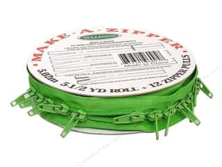 Sullivans Make-A-Zipper Kit 5 1/2 yd. Medium Green