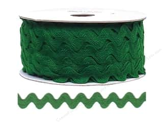 Cheep Trims Ric Rac 11/16 in. Emerald (24 yards)
