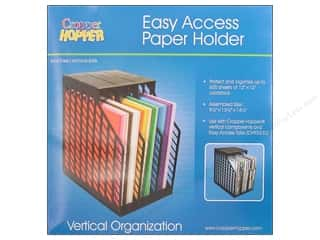 Weekly Specials Scrapbooking Organizers: Cropper Hopper Vertical Organizers Easy Access Paper Holder