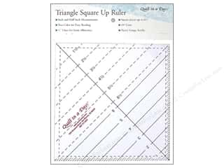 "Weekly Specials Omnigrid Rulers: Quilt In A Day Ruler 6.5"" Triangle Square Up"