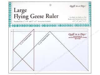 Quilting Templates / Sewing Templates: Quilt In A Day Ruler Large Flying Geese