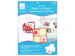June Tailor Print 'n Press Iron-On Inkjet Transfer Sheets 3 pc.