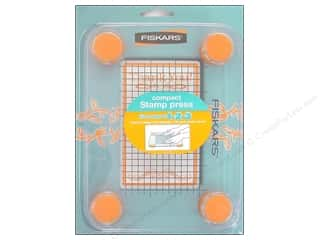 "scrapbooking & paper crafts: Fiskars Tool Compact Stamp Press 3""x 5"""