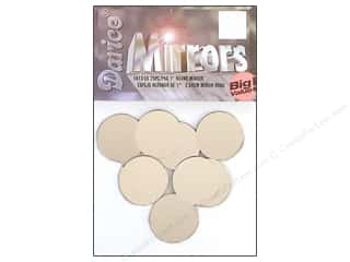 craft & hobbies: Darice Mirrors Big Value Round 1 in. 25 pc.