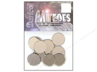 craft & hobbies: Darice Mirrors Round 3/4 in. 10 pc.