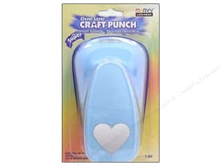 scrapbooking & paper crafts: Uchida Clever Lever Super Jumbo Craft Punch 1 7/8 in. Heart