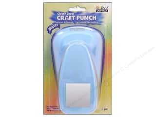 Uchida Clever Lever Super Jumbo Craft Punch 1 3/8 in. Square