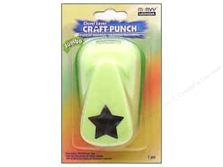 Uchida Clever Lever Jumbo Craft Punch 7/8 in. Star
