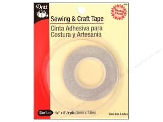glues, adhesives & tapes: Dritz Basting Tape 1/8 in. x 8 1/3 yd.