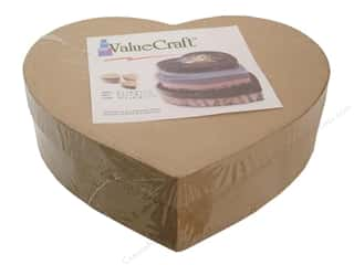 PA Paper Mache Thin Heart Box Value Pack Set of 3