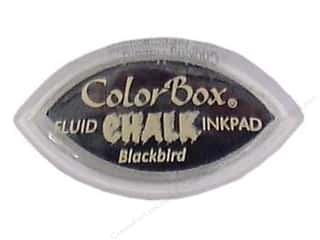 stamps: ColorBox Fluid Chalk Ink Pad Cat's Eye Blackbird