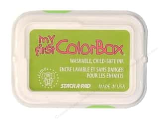 Clearance ColorBox Premium Dye Ink Pad: My First ColorBox Dye Ink Pad Lime