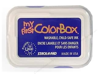 Clearance ColorBox Premium Dye Ink Pad: My First ColorBox Dye Ink Pad Purple