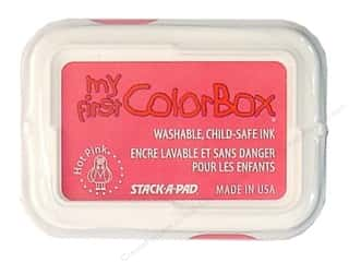 Clearance ColorBox Premium Dye Ink Pad: My First ColorBox Dye Ink Pad Hot Pink