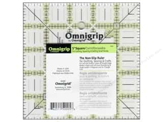 ruler: Omnigrid Omnigrip Non-slip Ruler 5 x 5 in.