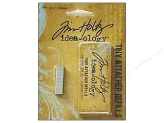 Tim Holtz Idea-ology Tiny Attacher Refill Staples 1550pc