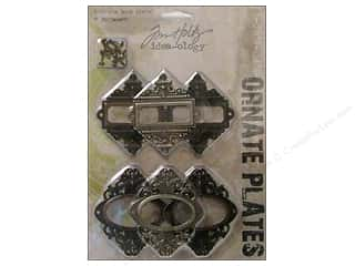Tim Holtz Idea-ology Ornate Plates 6 pc.