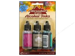 ranger alcohol ink kit: Tim Holtz Alcohol Ink by Ranger .5 oz. Valley Trail Set 3 pc.