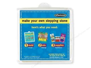 floral & garden: Milestones Stepping Stone Mold 12 in. Large Square