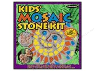 projects & kits: Milestones Stepping Stone Kit 8 in. Kids Octagon Mosaic