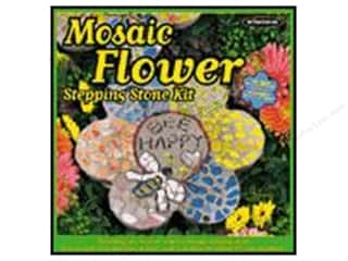 Projects & Kits: Milestones Stepping Stone Kit 12 in. Mosaic Flower